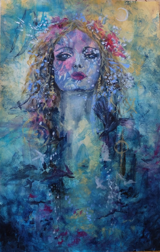 Facing Spirit: Fine Art Giclee prints available.