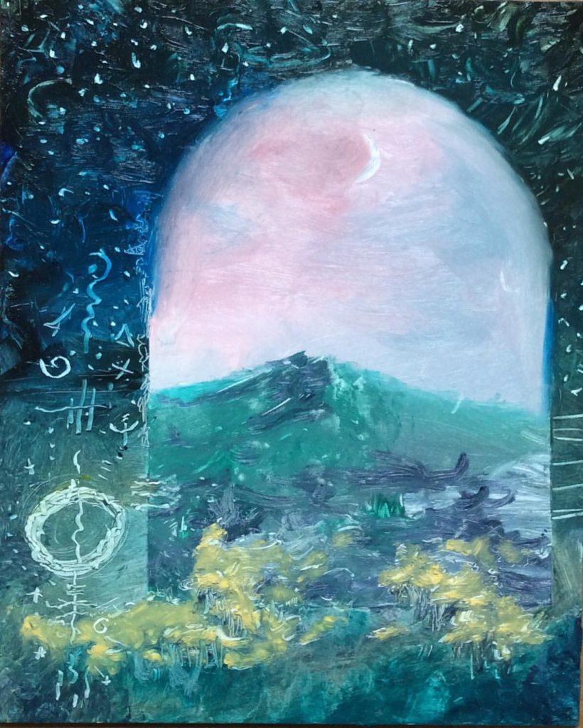 Passageway Oil Painting